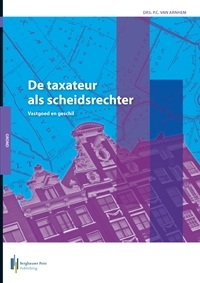 Boekomslag De taxateur als scheidsrechter