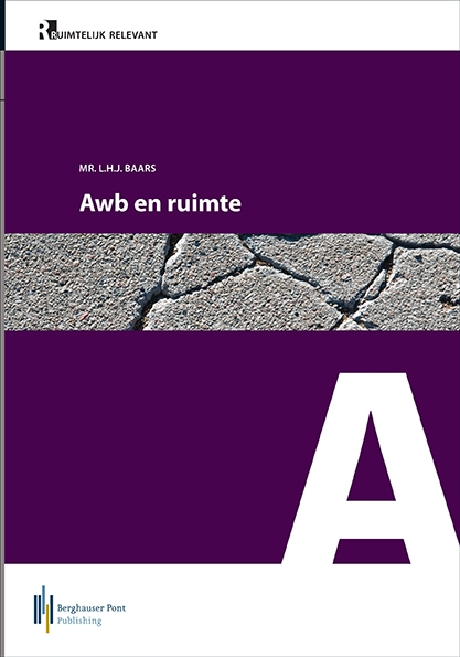 Boekomslag Awb en ruimte