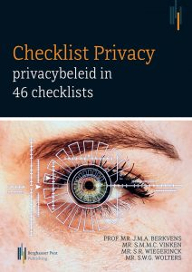 Omslag Checklist Privacy AVG: privacybeleid in 46 checklists (tweede druk)