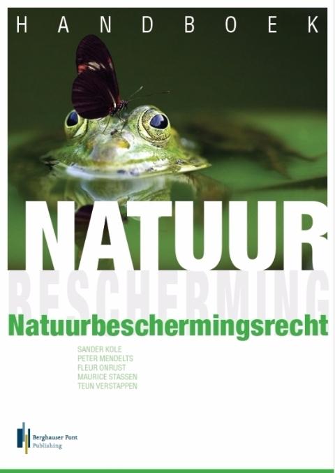 Boekomslag Handboek Natuurbeschermingsrecht