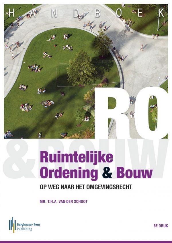 Boekomslag Handboek Ruimtelijke Ordening & Bouw
