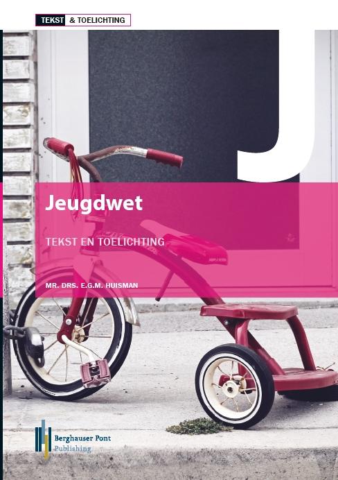 Boekomslag Jeugdwet, Tekst & Toelichting