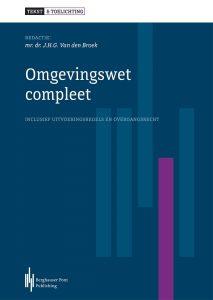 Boekomslag Omgevingswet Compleet, Tekst & Toelichting