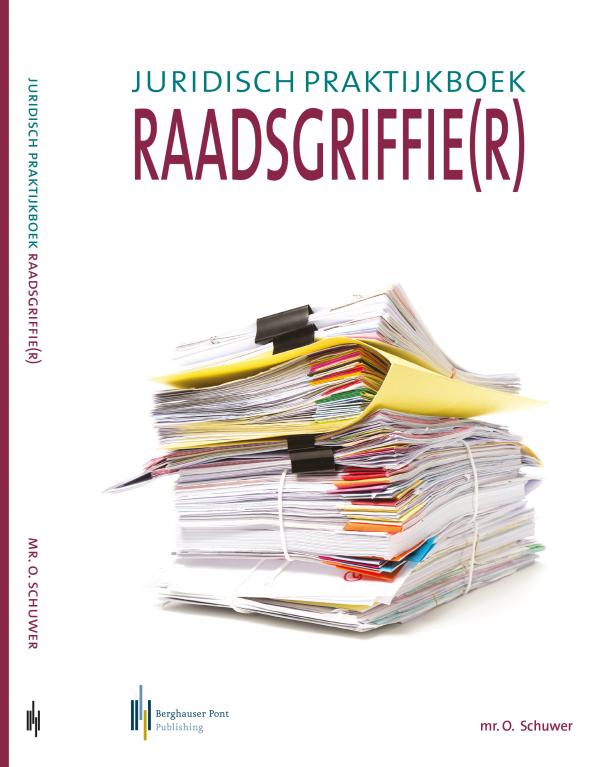 Boekomslag Juridisch praktijkboek raadsgriffie(r) voorkant