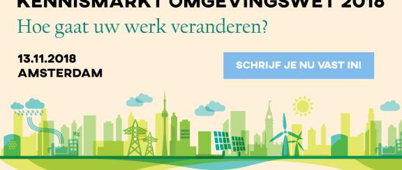Ook Rijksbouwmeester Floris Alkemade spreker op de Kennismarkt Omgevingswet 2018