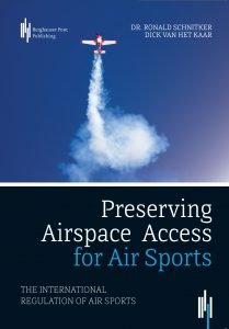 Book cover Preserving Airspace Access for Air Sports