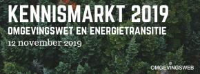 Kennismarkt 2019 – Omgevingswet en Energietransitie