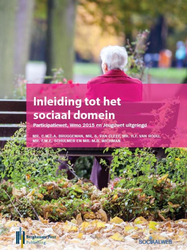 Boekomslag Inleiding tot het sociaal domein
