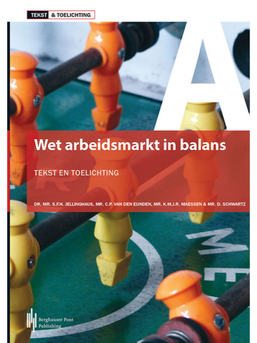 Boekomslag Wet Arbeidsmarkt in balans