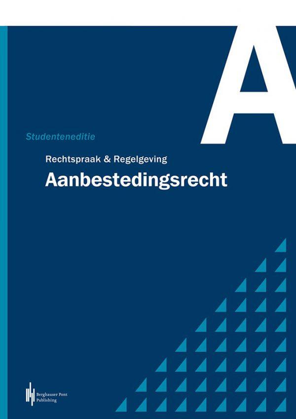 Boekomslag Rechtspraak & Regelgeving Aanbestedingsrecht