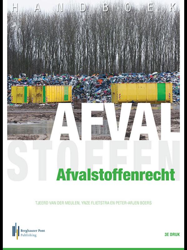 Boekomslag Handboek Afvalstoffenrecht