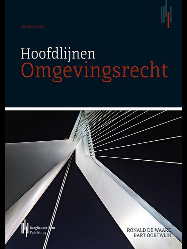 Boekomslag Hoofdlijnen omgevingsrecht