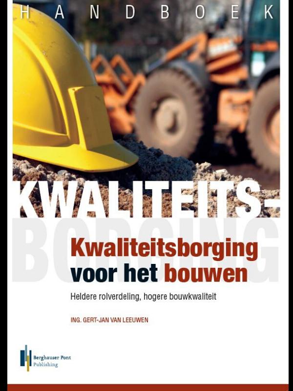 Boekomslag Handboek Kwaliteitsborging voor het bouwen