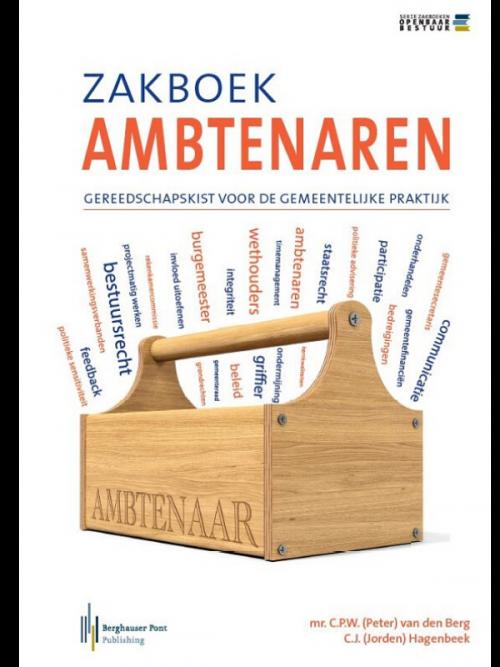 Boekomslag Zakboek ambtenaren