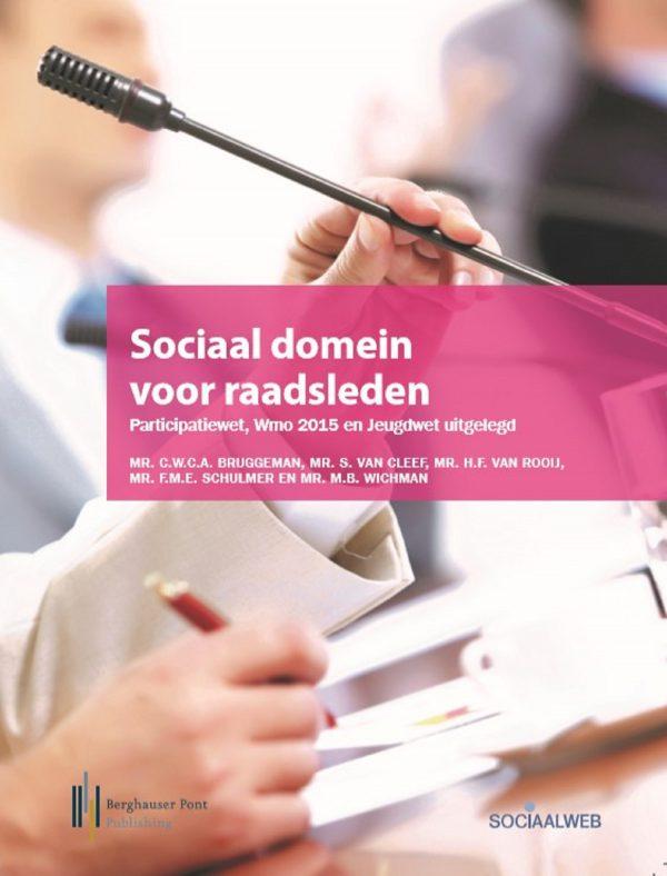 Boekomslag Sociaal domein voor raadsleden