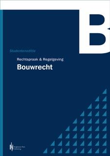 Boekomslag Rechtspraak Regelgeving Bouwrecht