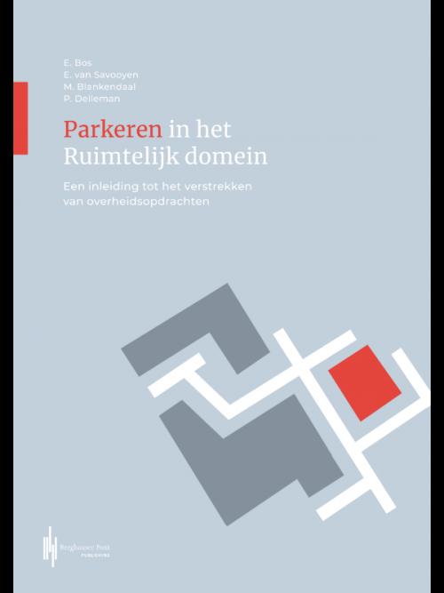 Boekomslag Parkeren in het ruimtelijk domein