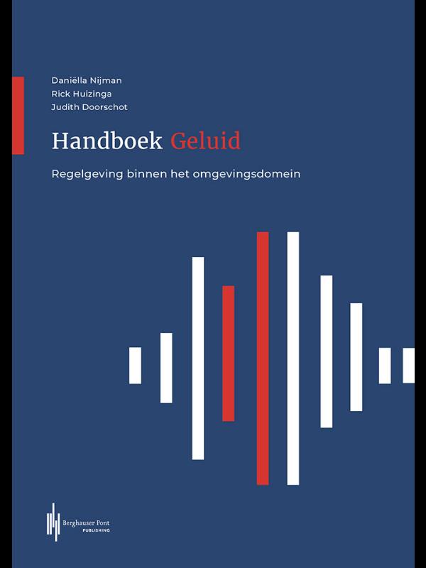 Boekomslag Handboek Geluid